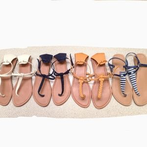 4 Pairs Forever 21 Sandals